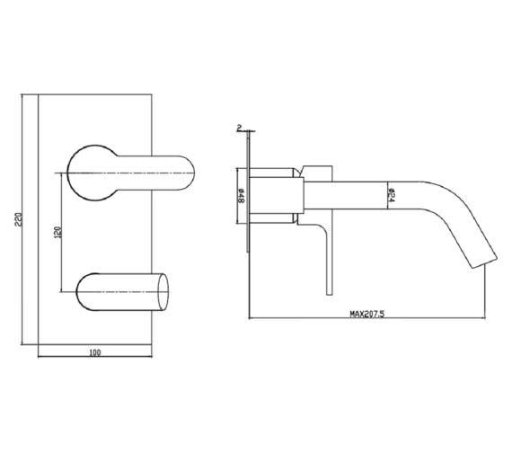 Technical drawing QS-V63581 / JZ006