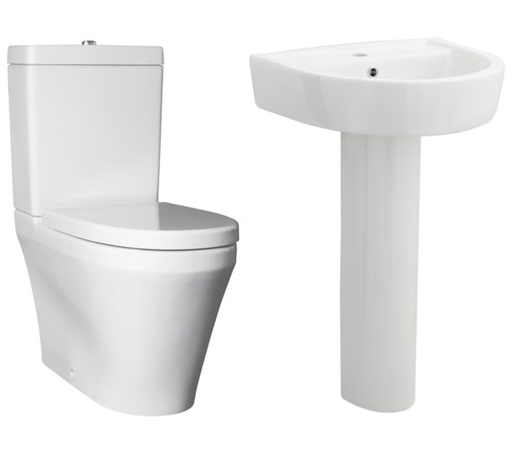 Nuie Premier Marlow Basin And Toilet Set