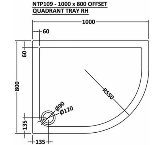 Technical drawing QS-V73378 / NTP101
