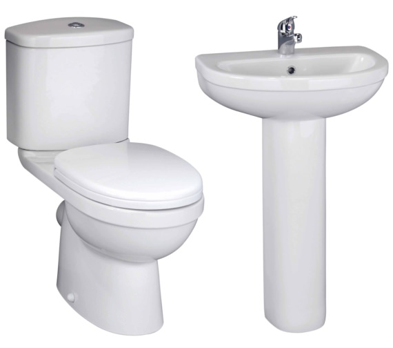 Nuie Ivo Basin And Toilet Set