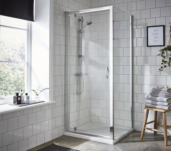 Premier Ella 800 x 1850mm Pivot Shower Door