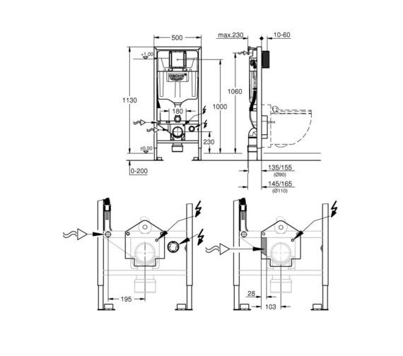Technical drawing QS-V87047 / 39112001
