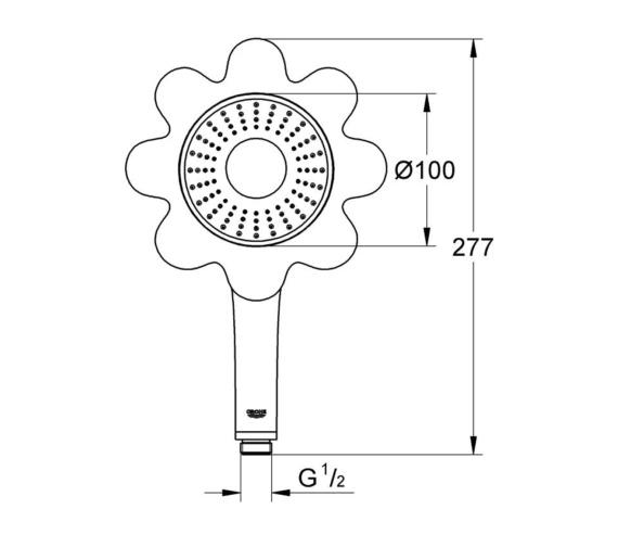 Technical drawing QS-V87064 / 26115TY0