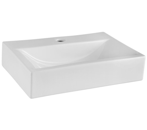 Premier 460 x 320mm Rectangular Counter Top Vessel Basin
