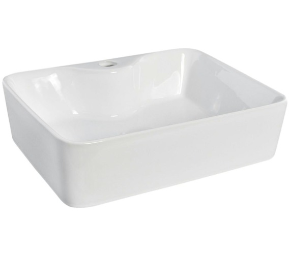 Nuie 485 x 374mm Rectangular Counter Top Vessel Basin
