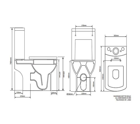 Technical drawing QS-V22766 / P700XS