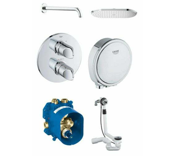 Grohe Spa Veris Bath Shower Solution Pack 3