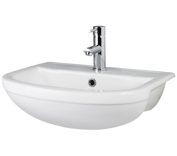 Hudson Reed Harmony 500 x 435mm Semi Recessed Basin