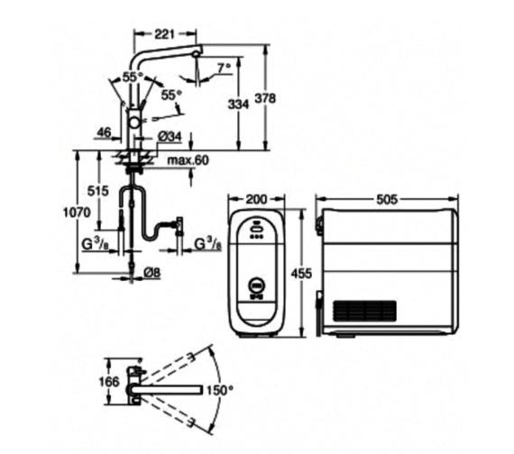 Technical drawing QS-V87075 / 31454DC0