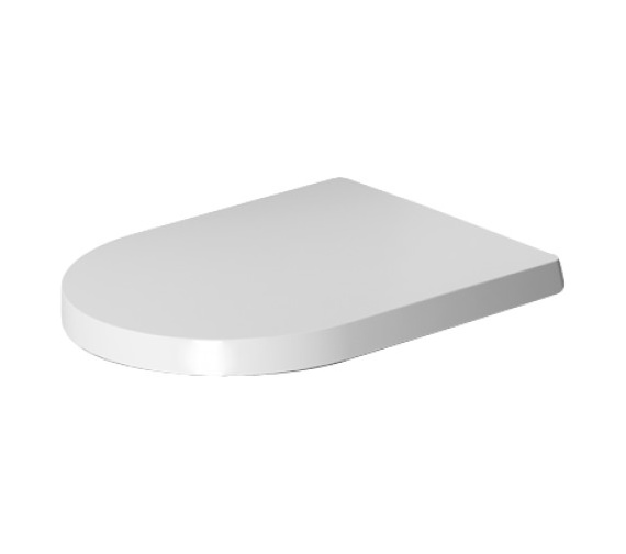 Duravit ME by Starck Toilet Seat And Cover With Automatic Closure