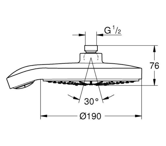Technical drawing QS-V6976 / 27765000