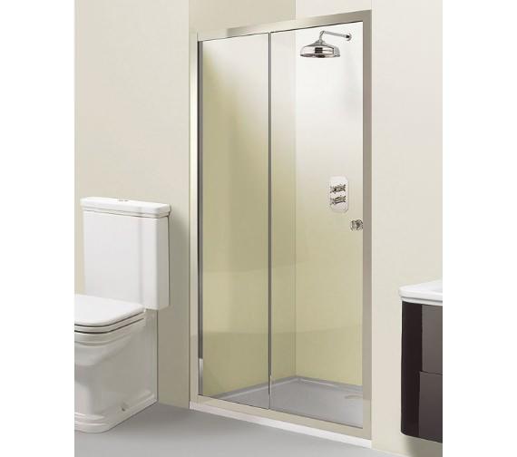 Simpsons Arcade Single Slider Shower Door 1200 x 1950mm