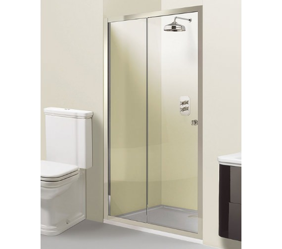 Simpsons Arcade Single Slider Shower Door 1400 x 1950mm