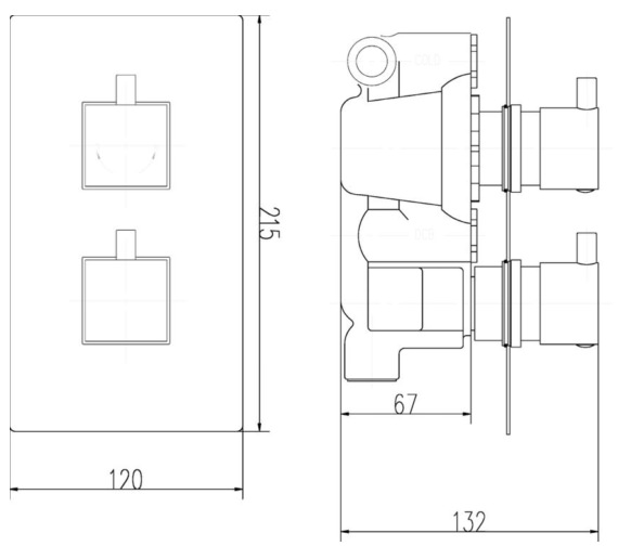 Technical drawing QS-V10898 / JTY301