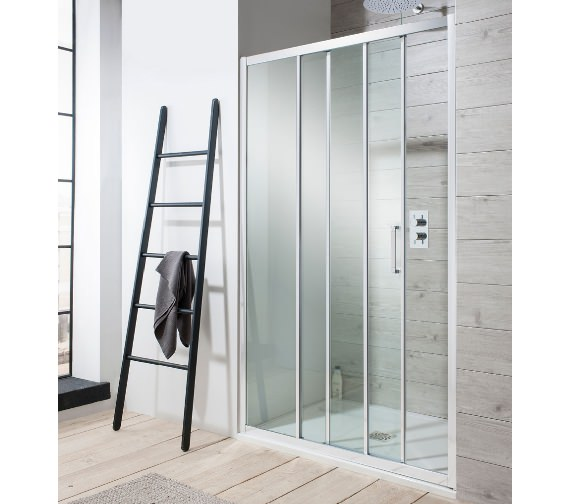 Simpsons Edge Triple Slider Shower Door 900 x 1950mm