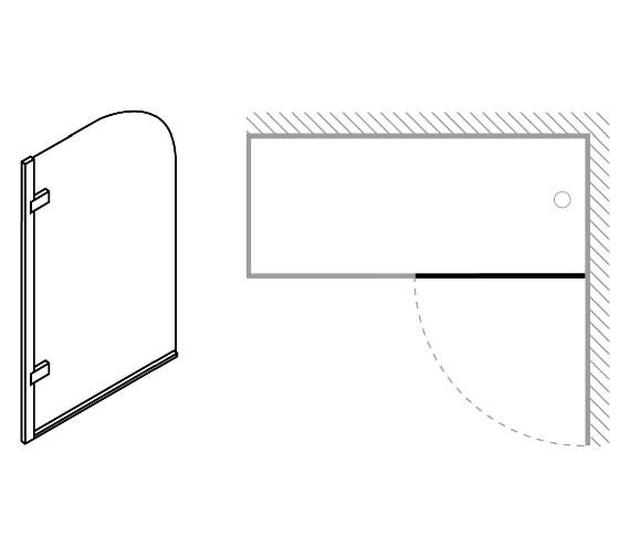 Technical drawing QS-V16696 / 6019/6021