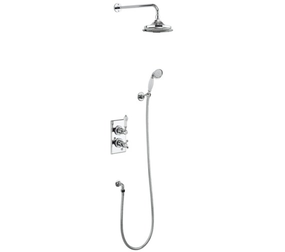 Burlington Trent Thermostatic 2 Outlet Divertor Valve With Shower Set