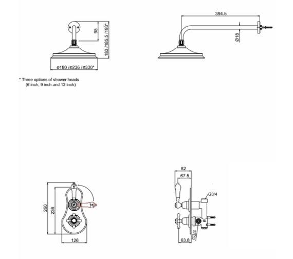 Technical drawing QS-V10844 / VF1S