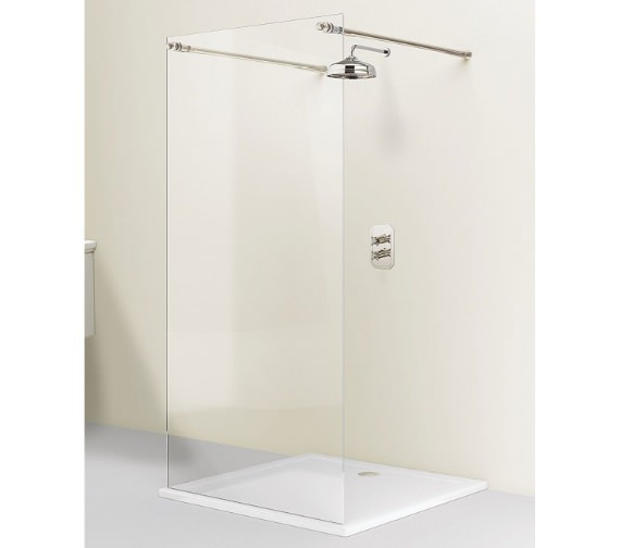 Simpsons Arcade Single Fixed Walk-in Shower Panel 1200mm