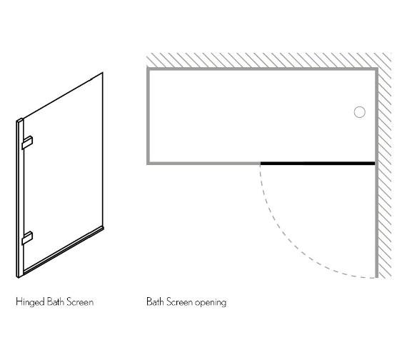 Technical drawing QS-V16695 / ARC45
