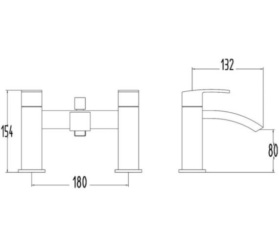 Technical drawing QS-V22506 / BEO-2150