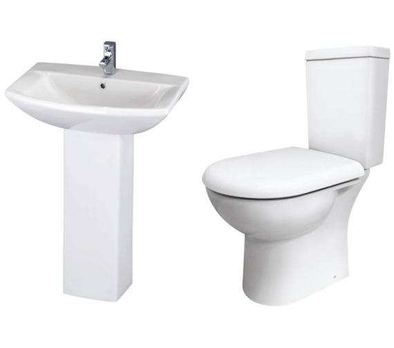 Nuie Knedlington Basin And Toilet Set