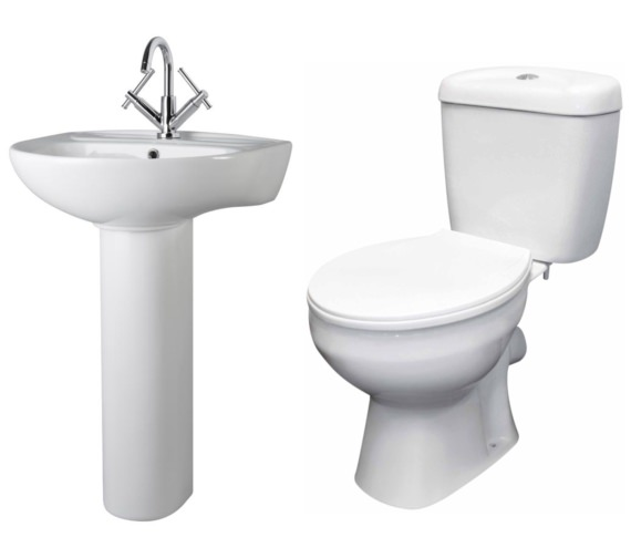 Nuie Premier Melbourne Basin And Toilet Set