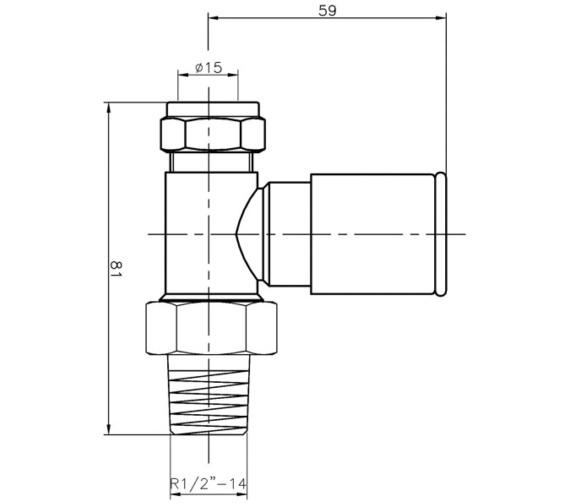 Technical drawing QS-V76781 / BEO-1978
