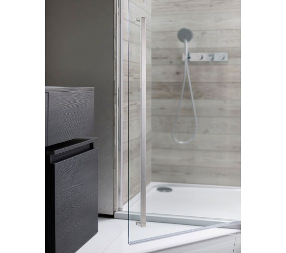 Additional image of Simpsons Pier Hinged Shower Door 900mm