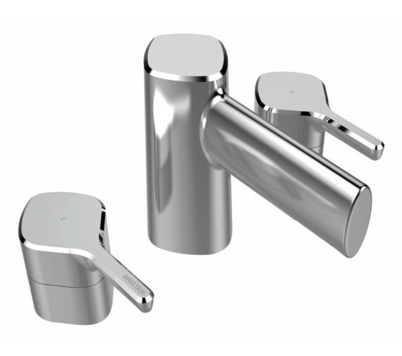 Bristan Flute 3 Hole Deck Mounted Bath Filler Tap