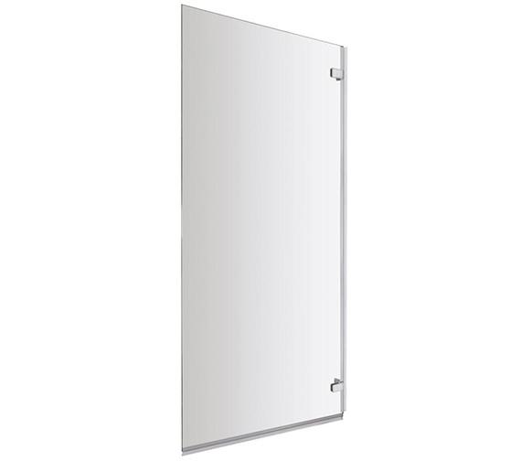 Premier Ella 780 x 1400mm Square Single Hinged Panel Bath Screen