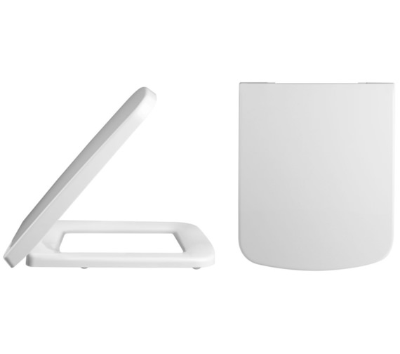 Premier Square Top Fix Soft Close Toilet Seat And Cover