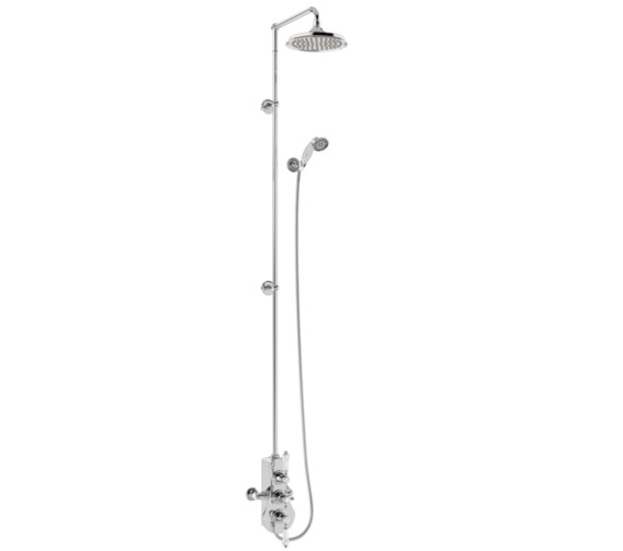 Burlington Spey 2 Outlet Exposed Thermostatic Extended Shower Set