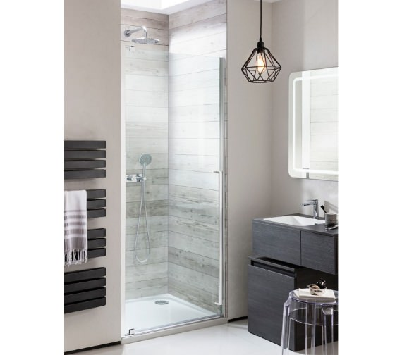 Simpsons Pier Hinged Shower Door 800mm - 900mm Available