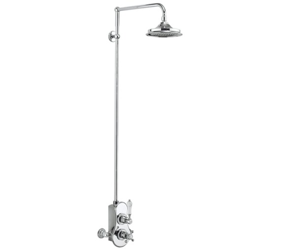 Burlington Spey 1 Outlet Exposed Thermostatic Shower Set