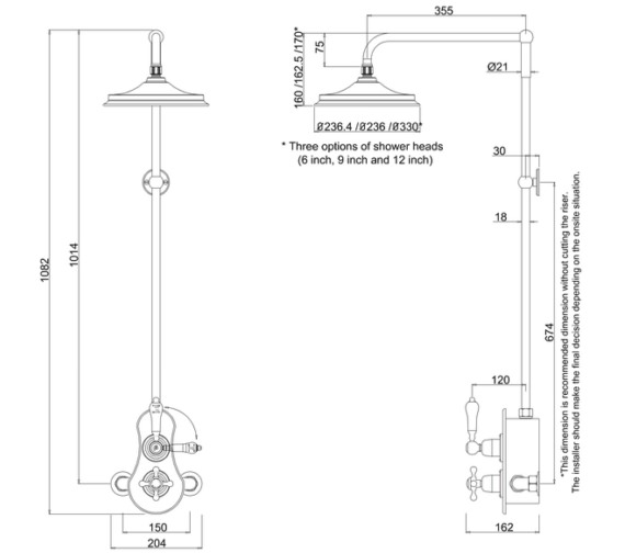 Technical drawing QS-V10846 / BSF1S