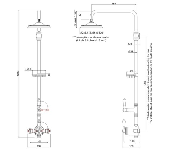 Technical drawing QS-V10855 / BF2S
