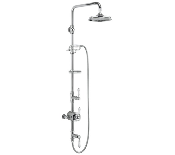 Burlington Stour Two Outlet Exposed Thermostatic Shower Set