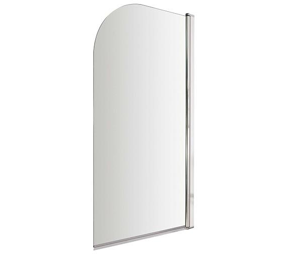 Lauren Straight 755-775 x 1435mm Single Panel Bath Screen