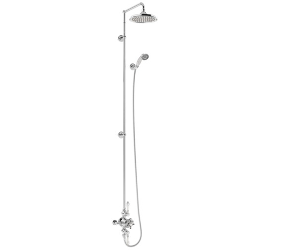 Burlington Avon 2 Outlet Exposed Thermostatic Extended Shower Set