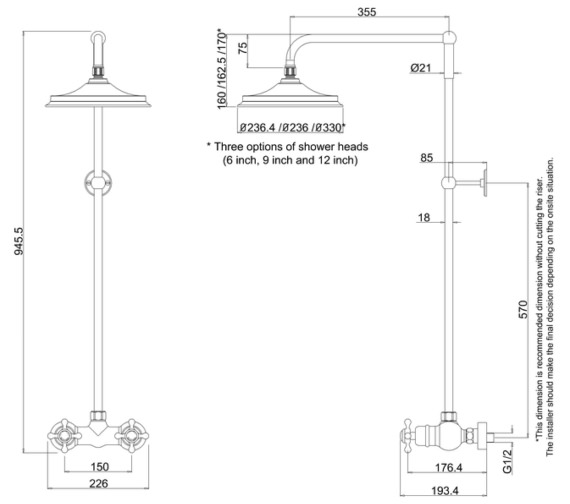 Technical drawing QS-V10852 / BEF1S