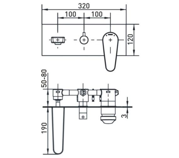 Technical drawing QS-V17468 / CLR WMBSM C