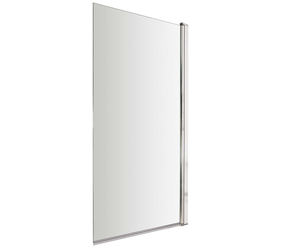 Lauren Square 775-790 x 1435mm Single Panel Bath Screen