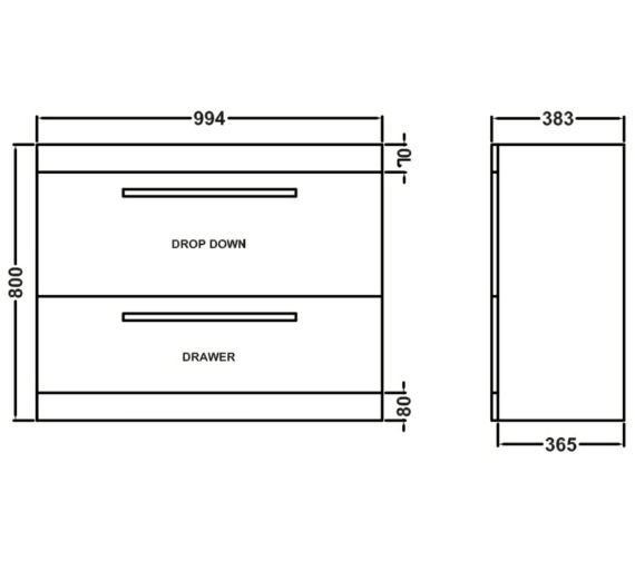 Technical drawing QS-V54822 / NVM197