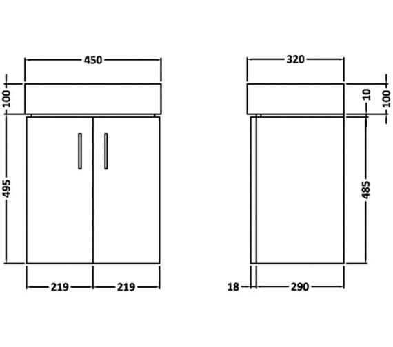 Technical drawing QS-V19415 / NVX183