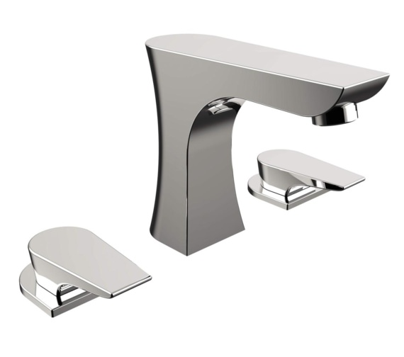 Bristan Hourglass 3 Hole Deck Mounted Bath Filler Tap