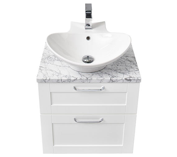 Miller London 60 Two Drawer Wall Hung Vanity Body