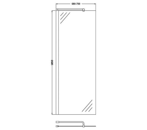 Technical drawing QS-V60397 / WRSC070