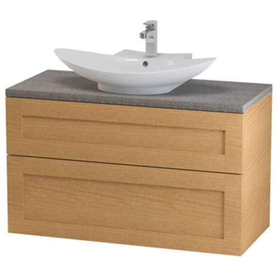 Miller London 100 Two Drawer Wall Hung Vanity Body