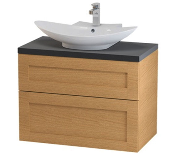 Miller London 80 Two Drawer Wall Hung Vanity Body